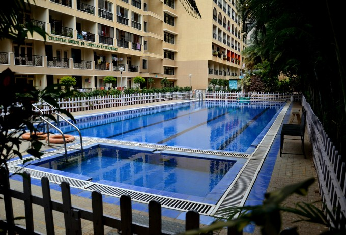 Swimming pool @ CG